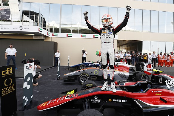 Anthoine Hubert wins GP3 title 2018