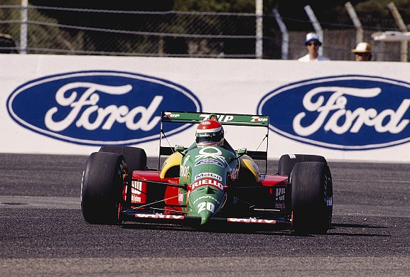 Emanuele Pirro F1 1989 Benetton