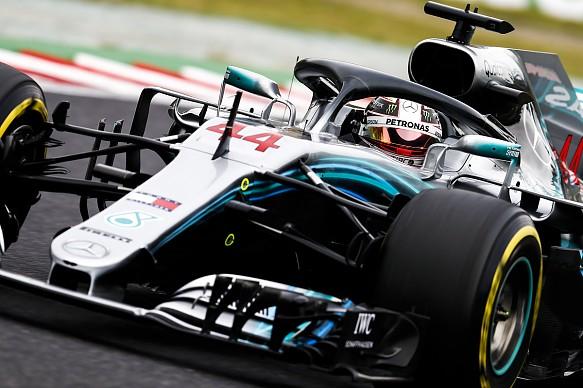 Lewis Hamilton Mercedes Japanese GP 2018 Suzuka