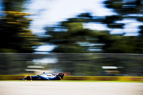 Robert Kubica Williams Australian Grand Prix 2019