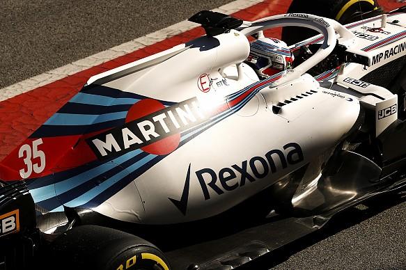 Sergey Sirotkin Williams F1 testing Barcelona 2018