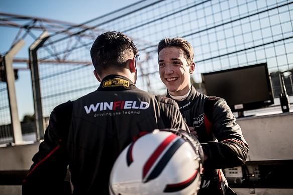 Volant Winfield winner Jules Mettetal
