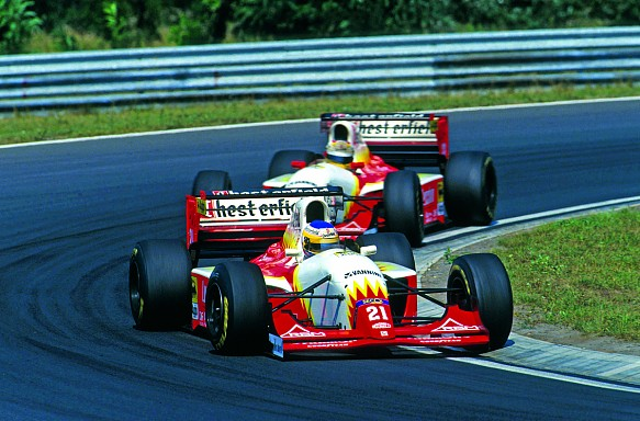 Luca Badoer 1993 Lola Scuderia-Italia Hungarian Grand Prix
