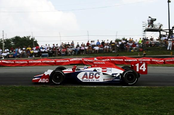 Darren Manning Indycar 2008 Mid-Ohio