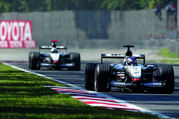 Kimi Raikkonen Monza 2003