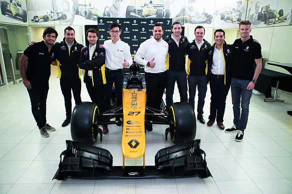 Renault F1 INFINITI Engineering Academy