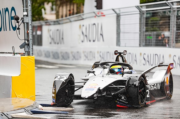 Oliver Rowland Nissan FE Paris 2019