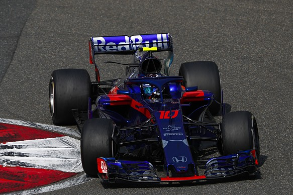 Pierre Gasly Toro Rosso Chinese GP 2018