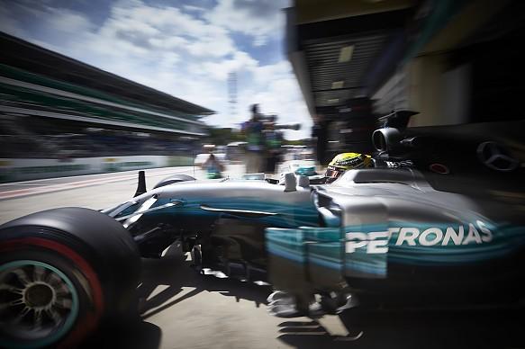 Lewis Hamilton Mercedes Brazilian GP 2017