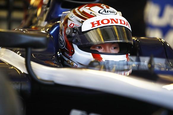 Tadasuke Makino Russian Time F2 Abu Dhabi testing 2017