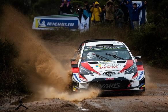 Ott Tanak WRC Toyota Rally Argentina 2019