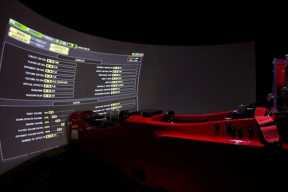 Lando Norris, Autosport Performance Pro-Sim visit