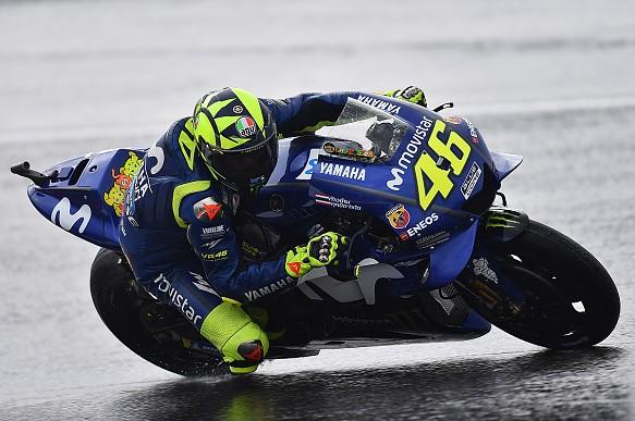 Valentino Rossi Yamaha MotoGP Austria 2018