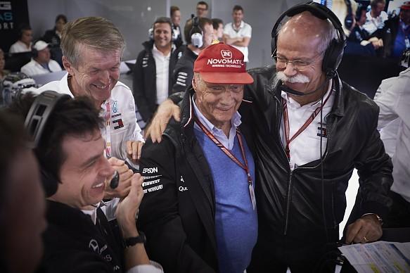 Niki Lauda Mercedes 2018