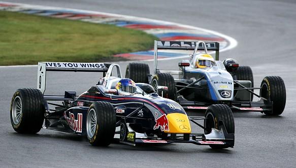 Sebastian Vettel Lewis Hamilton Euro F3 Lausitzring 2005