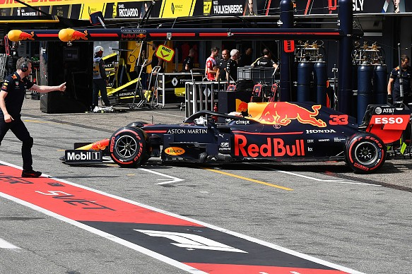 Verstappen Red Bull Hungary 2019