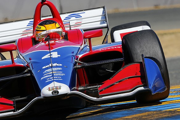 Matheus Leist IndyCar 2018