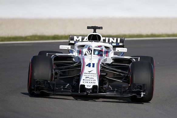 Oliver Rowland Williams Barcelona F1 test 2018