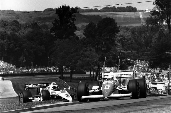 Teo Fabi 1989 Indycar Mid-Ohio