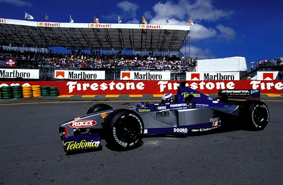 Stephane Sarrazin, 1999 Brazilian Grand Prix