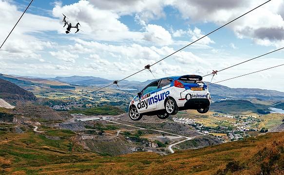 #Skydriver Rally GB stunt