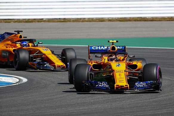 Stoffel Vandoorne Fernando Alonso 2018