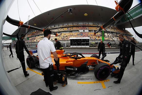 Stoffel Vandoorne McLaren Chinese GP 2018