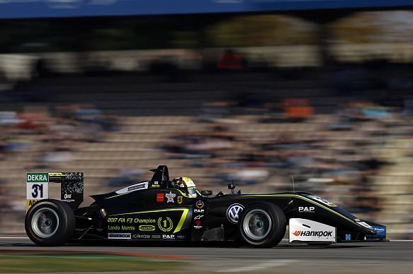 Lando Norris Euro F3 2017