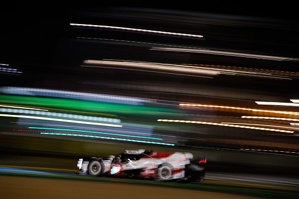 Alonso Toyota Le Mans 24 Hours 2019