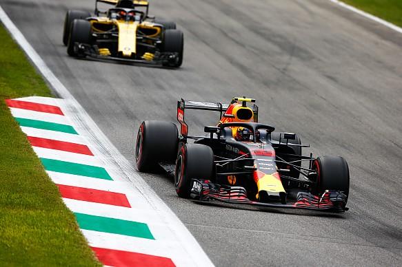 Sainz Verstappen Monza