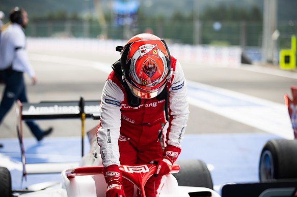Marcus Armstrong FIA F3