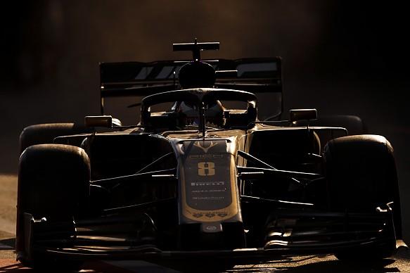 Romain Grosjean Haas Azerbaijan Grand Prix 2019
