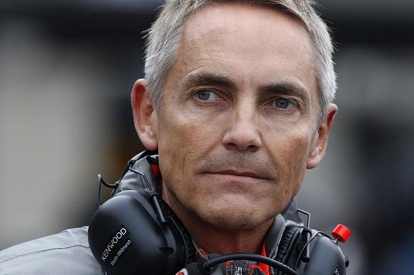 Martin Whitmarsh McLaren 2013