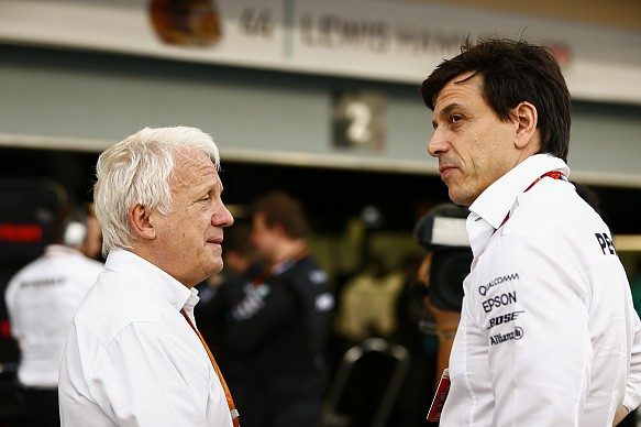 Charlie Whiting Toto Wolff