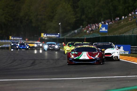 Ferrari Spa WEC 2018