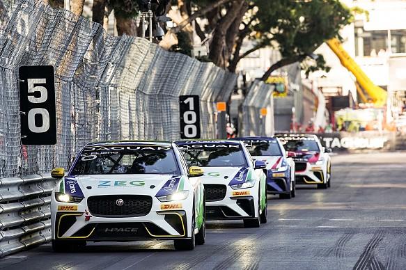 Caca Bueno Jaguar i-Pace eTrophy Monaco