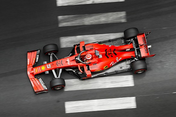 Sebastian Vettel Ferrari Monaco Grand Prix 2019