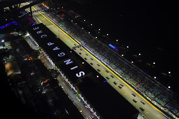 Singapore Grand Prix 2019 start
