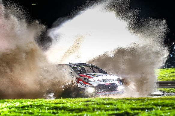 Meeke Toyota WRC Rally GB 2019