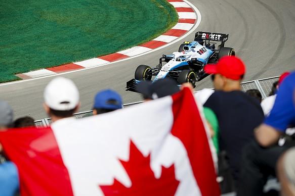 Latifi Canadian GP F1 2019