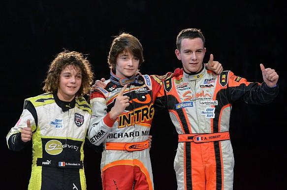 Hubert Leclerc Boccolacci 2011 CIK-FIA karting