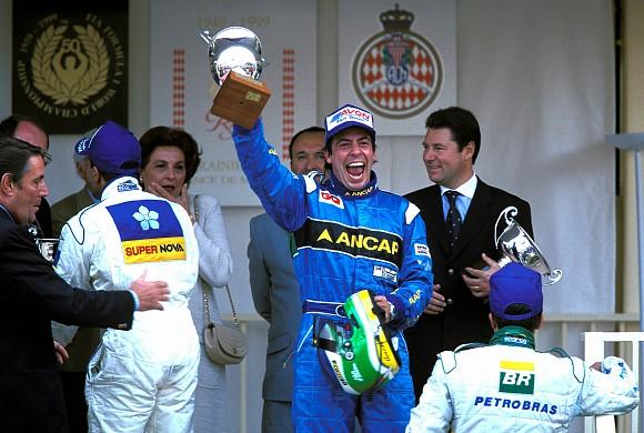 Gonzalo Rodriguez F3000 Monaco 1999