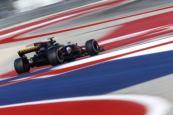 Carlos Sainz Jr Renault US Grand Prix 2017