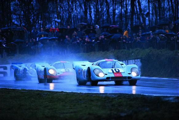 Porsche 917 in the rain
