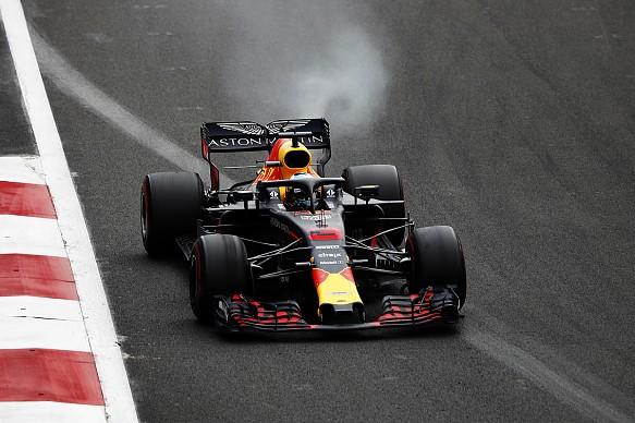 Daniel Ricciardo Red Bull Mexican Grand Prix 2018