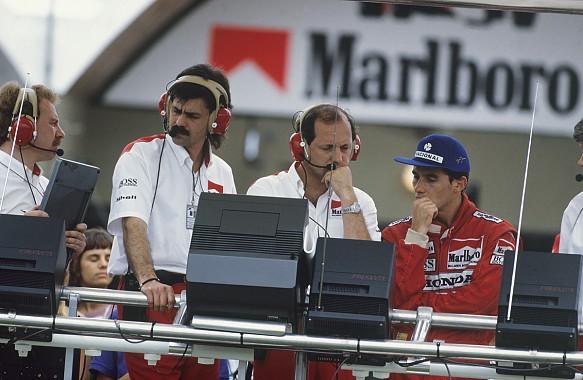 Oatley Murray Dennis Senna McLaren F1 1988