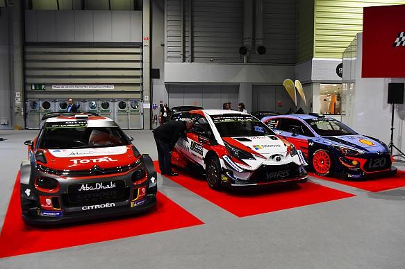 ASI WRC launch