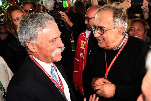 Chase Carey Sergio Marchionne