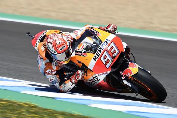 Marc Marquez Jerez MotoGP Honda
