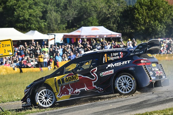 Sebastien Ogier M-Sport Ford WRC Germany 2018